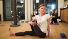Foto t & wYoga in der Yogahalle