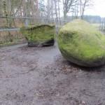 Einige Steine