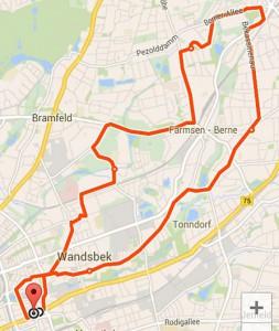 Schleswig-Holstein ist nicht mehr weit weg: eine Runde durch Hamburgs wilden Nordosten.