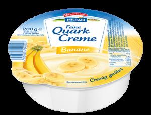 Quark Creme Banane? Eher eine Zuckercreme...