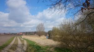 Am Treidelweg zwischen Lüneburg und Bardowick - eines meiner liebsten Laufreviere.