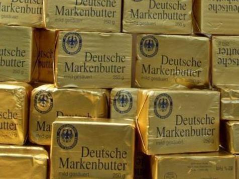 56 Packungen Butter