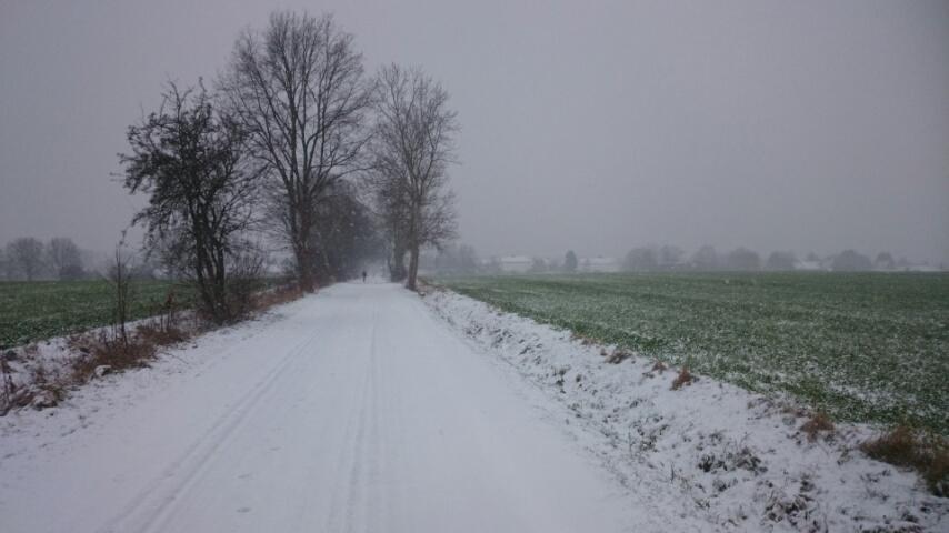 Schnee, du kleine weiße Hölle