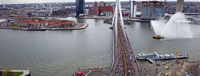 Im Laufschritt nach Rotterdam